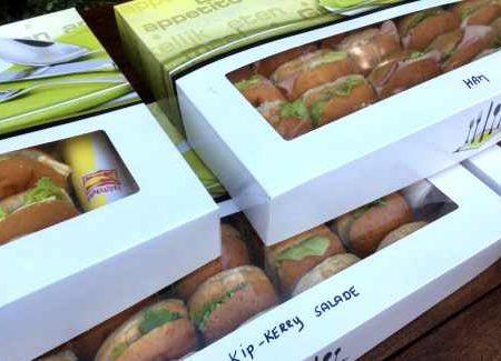 Budget broodjes bestellen Almere